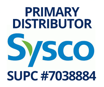 Primary Distributor SYSCO SUPC #7038884